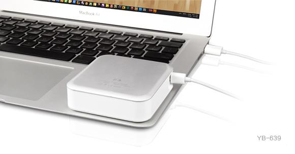 Yoobao Magic Cube II Powerbank Charge from Laptop