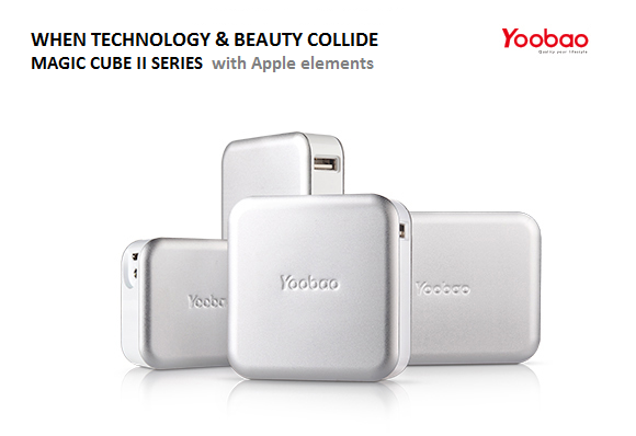 Yoobao Magic Cube II Powerbank Series - 4 models