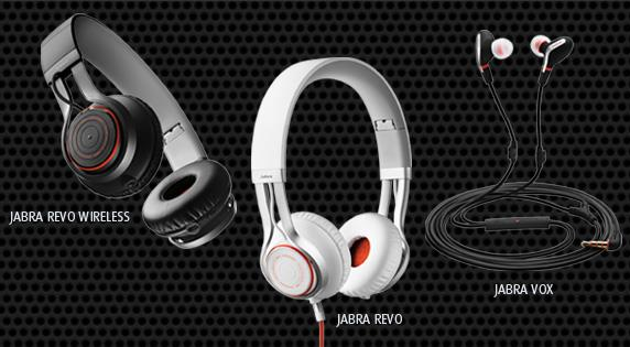 Jabra Revo Corded, Wireless and Jabra Vox