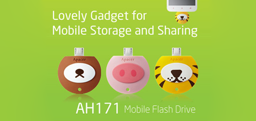 AH171 Mobile Flash Drive 526x250