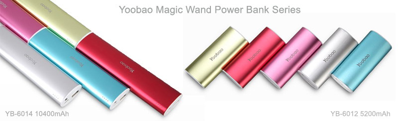 Yoobao Magic Wand Power Bank Yb-6012&6014