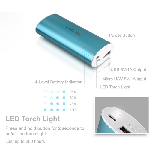 Yoobao Magic Wand Powerbank 5200mAh YB-6012