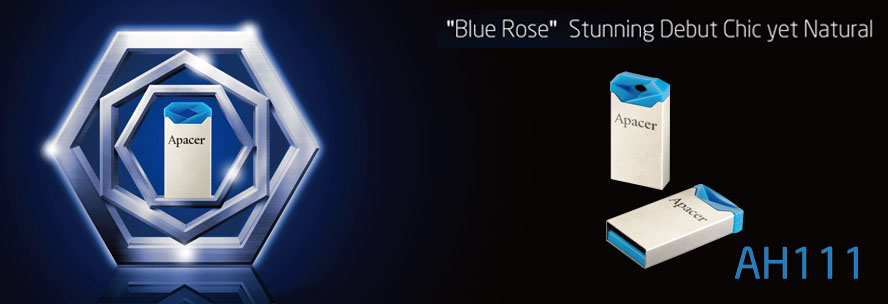 Apacer Thumbdrive AH111 Blue Rose