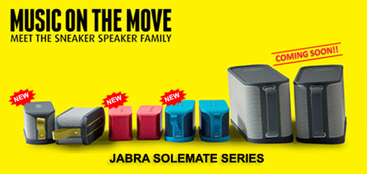 Jabra Solemate Series Banner for a-mobile
