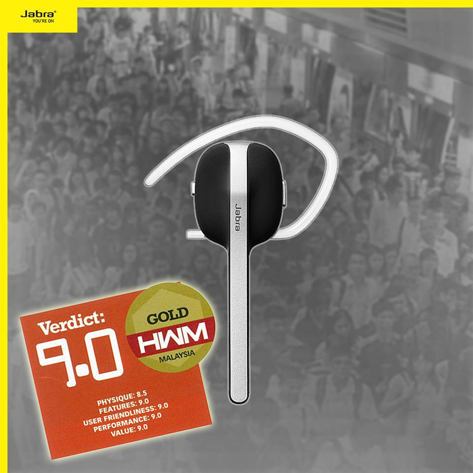 Jabra Style Bluetooth Headset - HWM Gold Award