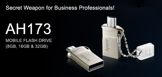 Apacer AH173 USB OTG Mobile Flash Drive12